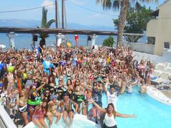 Quayside Village Hotel Kavos Corfu - Greek Party Resorts - Massive Pool Parties Kavos