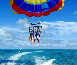 Kavos Parasail - Kavos Fun - Kavos Water Sports - Kavos Activities - Kavos Summer - Kavos Sea Life -