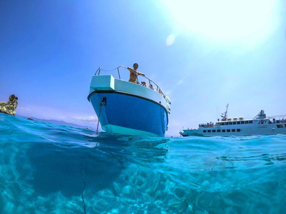 Prestige By Kavos Cruises - Glass Bottom Boat In Kavos Corfu