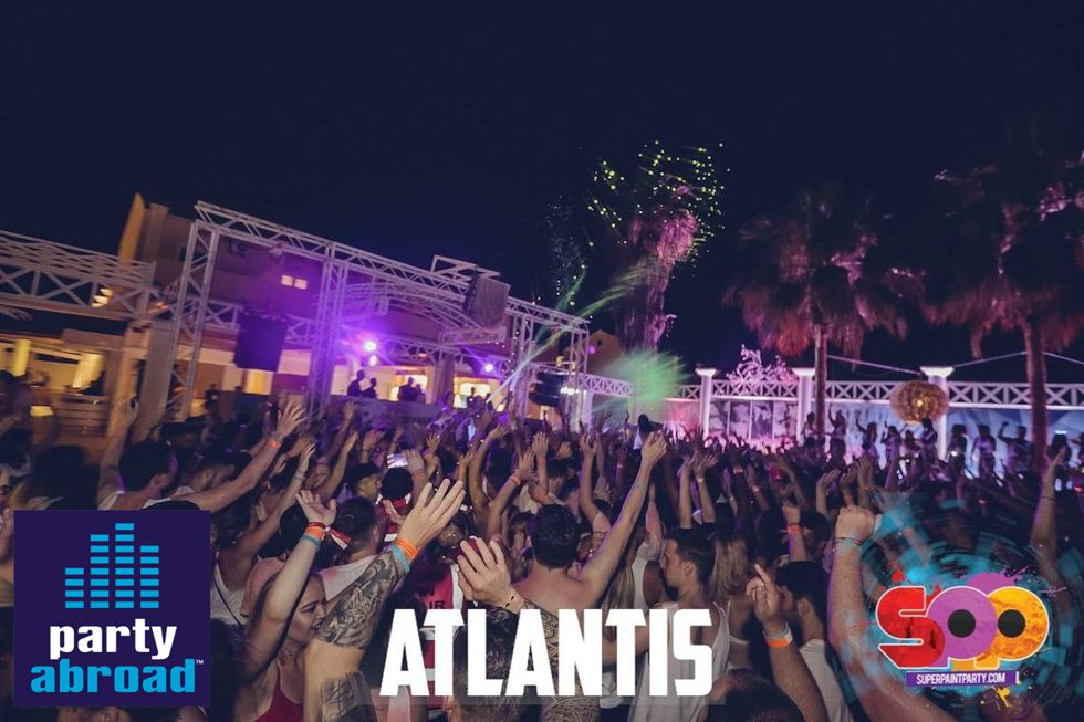 Super Paint Party Atlantis Kavos