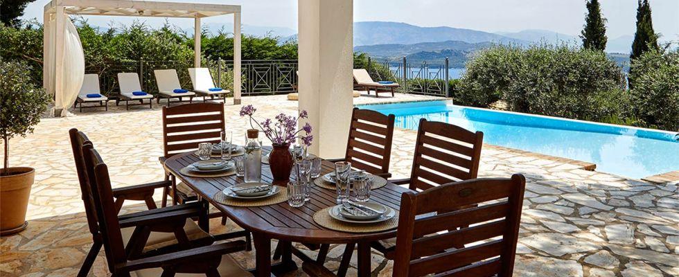 Villa Ricci Avlaki Corfu - Greek Luxury Villas - Amazing Villas In Corfu
