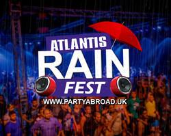Rain Festival Kavos Corfu - Atlantis Beach Club - Kavos Events - Kavos Parties - Kavos Clubbing - Ka