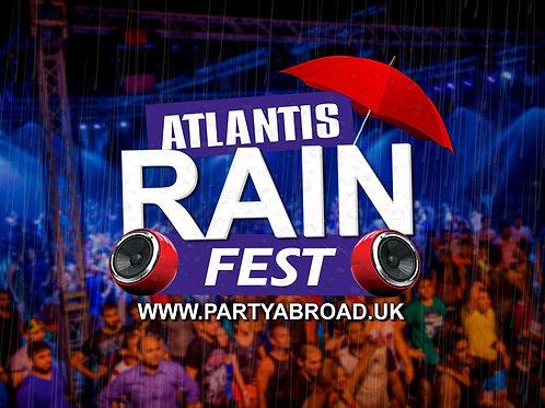Rain Festival 2019 | Atlantis Kavos | Entry Ticket