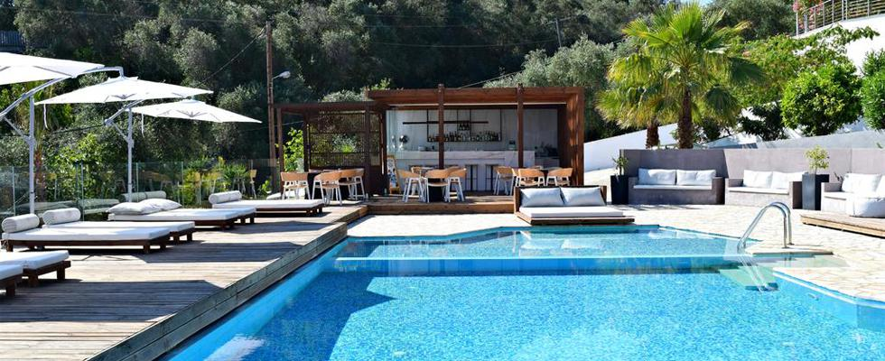 Greek Hotels - Accommodations In Corfu - Ionian Eye Hotel Messonghi - Best Hotels In Corfu