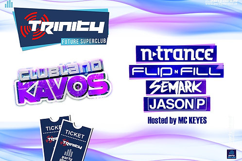 Clubland | Trinity 2019 | Future Superclub Kavos | Wed 7th Aug | E-Ticket