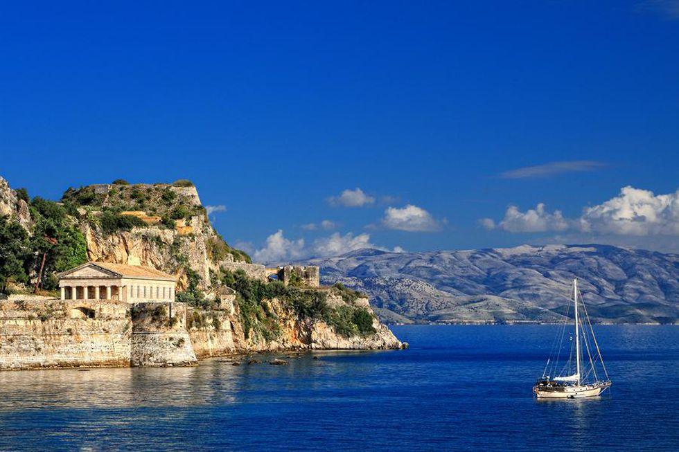 Old Fortress - Spianada Corfu - Kavos Ex