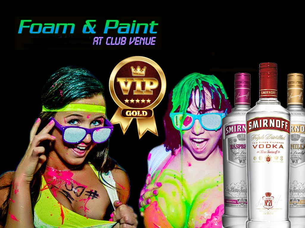 VIP Table - Foam And Paint Party - Club Venue - Kavos Corfu