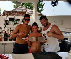 Cavo D'Oro Beach Club Kavos Friends and Staff