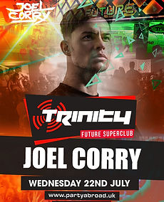 Joel Corry Trinity Event Kavos July 22nd 2020