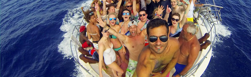 Kavos Party Boat | Kavos Booze Cruise | Party Boat Admission Tickets Kavos Corfu