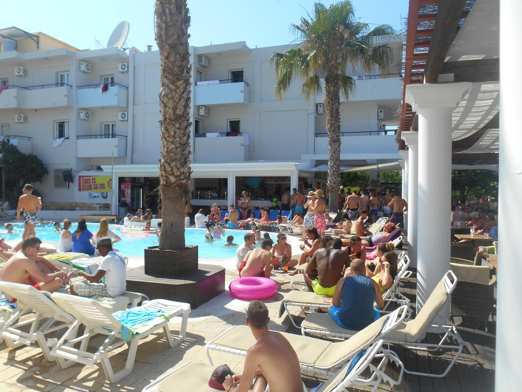 Quayside Village Hotel Kavos Corfu - Greek Party Resorts - Kavos Corfu Pool Parties Kavos - Baywatch