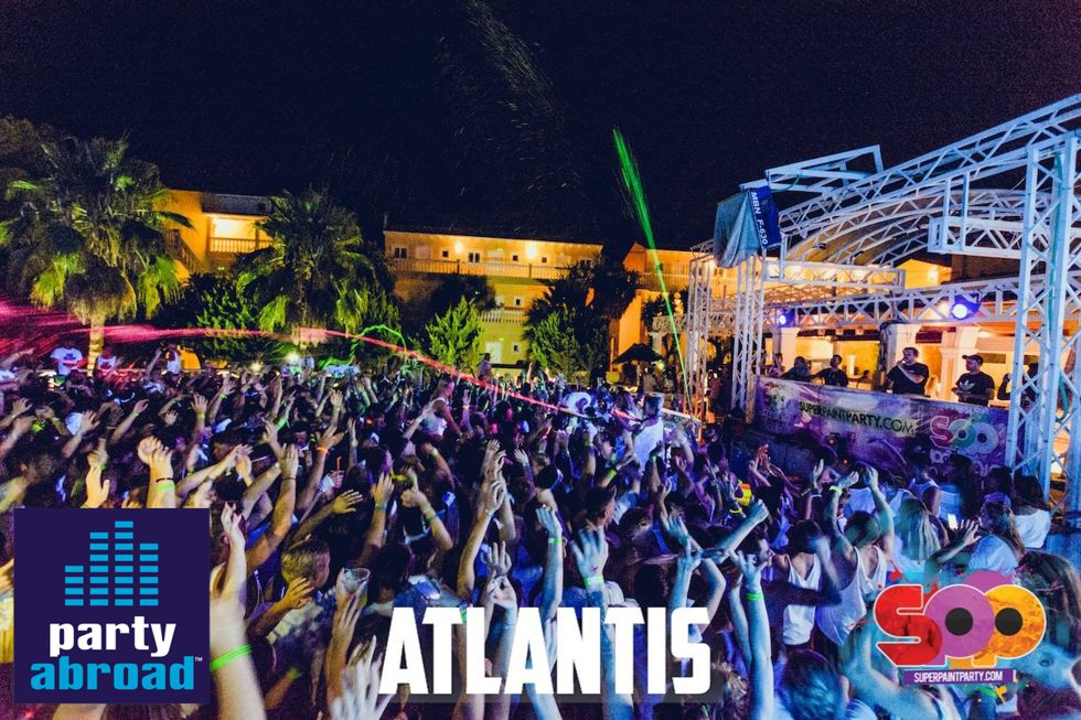 Biggest Paint Party In Europe - Kavos Parties - Kavos Events - Atlantis Club Kavos Corfu