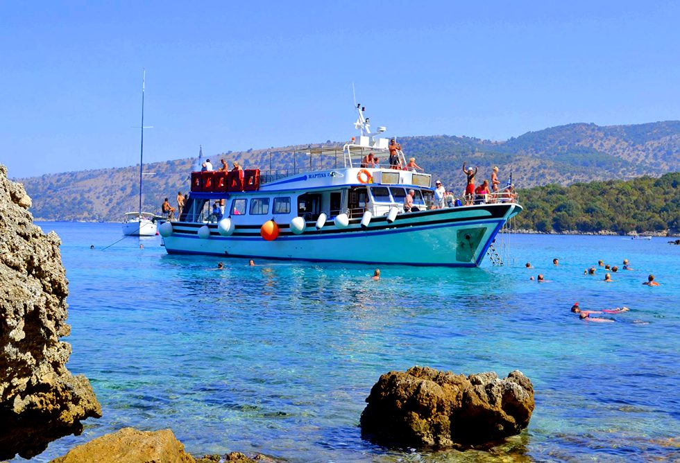 Kavos Excursions - Kavos Boat Cruises - Poseidon's Bay - Mythical Cruise In Kavos Corfu - Must Do Bo
