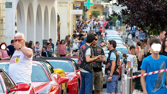 Corfu Car Show Passione Rossa Ferrari Ow