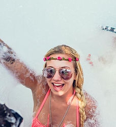 Fun under the sun in the biggest foam party in Kavos