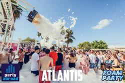 Kavos Clubbing - Kavos Mega Foam Party - Kavos Events - Kavos Party Life - Atlantis Kavos Corfu