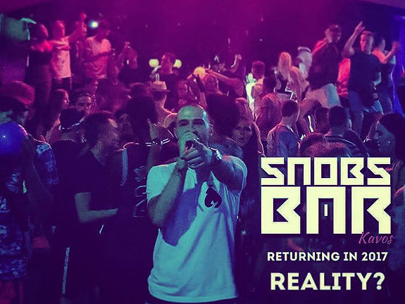Reality MC In Kavos Corfu | Snobs Bar With Reality and Jason Purse | Getto Gentz At Snobs Bar Kavos Corfu | Nightlife Events In Kavos | Kavos Corfu Clublife