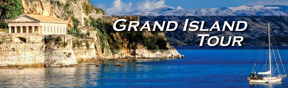 Grand Island Tour Excursion Kavos Corfu.