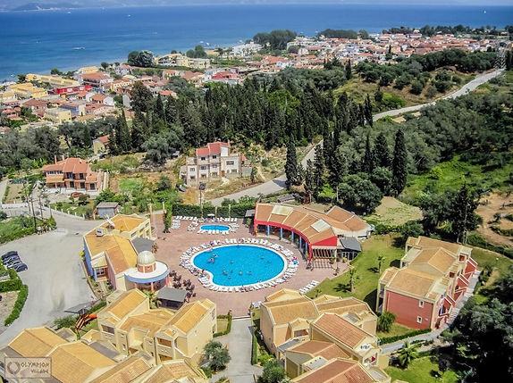 Olympion Village Hotel | Accommodations In Kavos Corfu | Places To Stay In Greece