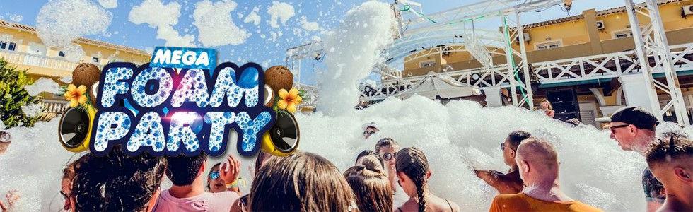 Mega Foam Party Kavos | Atlantis Beach Venue Kavos Corfu | The Biggest Outdoor Foam Party In Kavos Corfu | Clubbing in Kavos | Daytime Events in Kavos