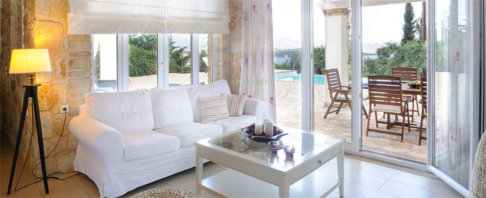 Great Summer Villas In Greece - Villa Ricci Avlaki - Corfu Luxury Villas