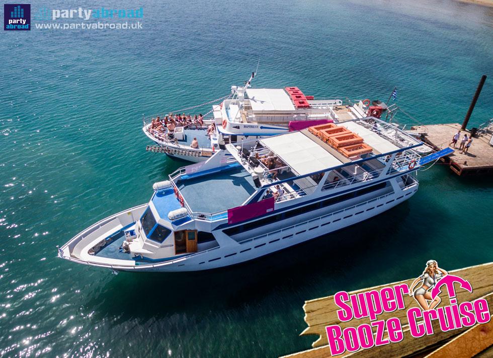 Boat Parties Kavos Corfu - Super Booze