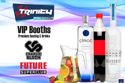 VIP Booth | Charlie Sloth | Trinity 2019 | Future | Kavos | June 26th Wed