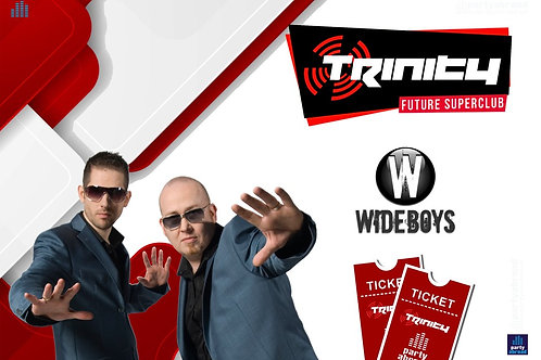 Wideboys | Trinity 2020 | Future Superclub Kavos | Wed 19th Aug | E-ticket