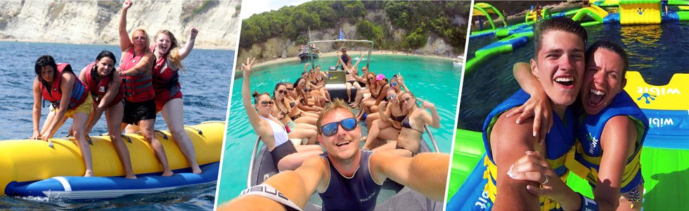 Kavos Activities Package | Kavos Discount Bundles | Deals and Savings for watersports and other activities in Kavos Corfu