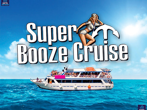 Super Booze Cruise 2021 | Captain Theo | Kavos | Aug 14th Sat | Ticket