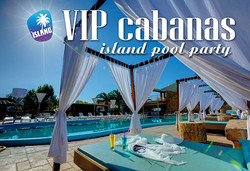 VIP Cabanas Island Pool Party