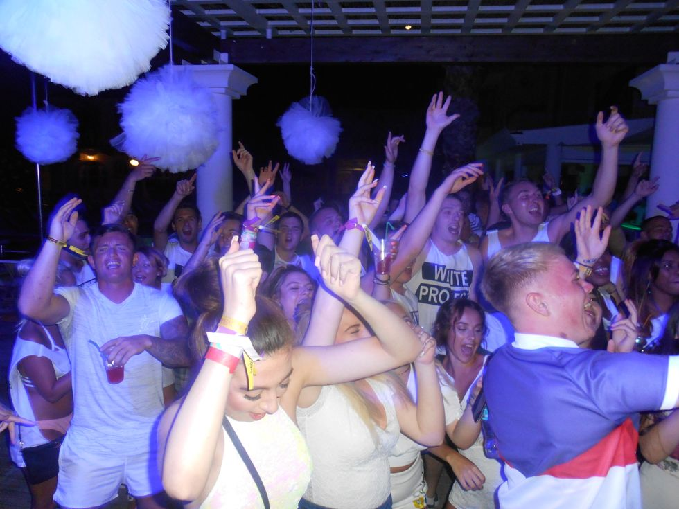 White Project Party - Quayside Village Hotel - Kavos - Corfu - Kavos Events - Kavos Club Nights - Ka
