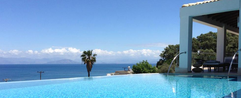 Villa La Pearl In Messonghi Greece - Villa With Infinity Pool In Corfu - Luxury Accommodations In Gr
