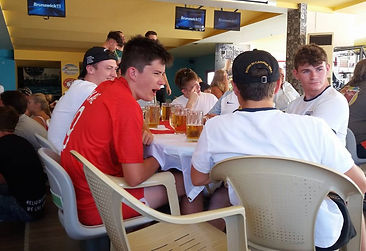 Beer Taps Run Dry In Kavos As English Football Fans Gather To Watch England VS Sweden Match