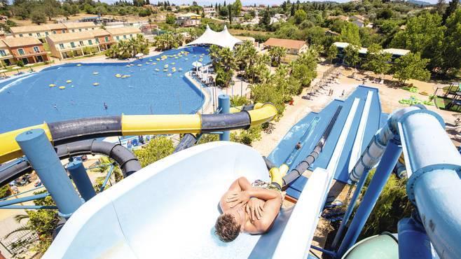 Aqualand Waterpark Corfu