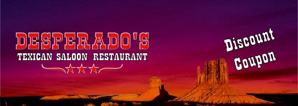 Desperado's Texican Saloon Restaurant Ka