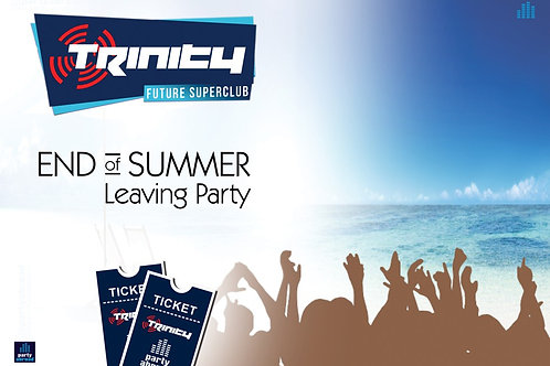 Closing Party | Trinity 2019 | Future Superclub Kavos | Wed 11th Sept | E-Ticket