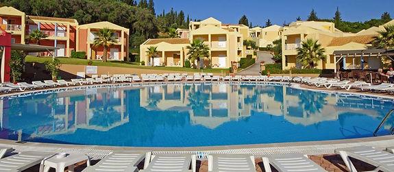 Olympion Village Hotel In Kavos Corfu