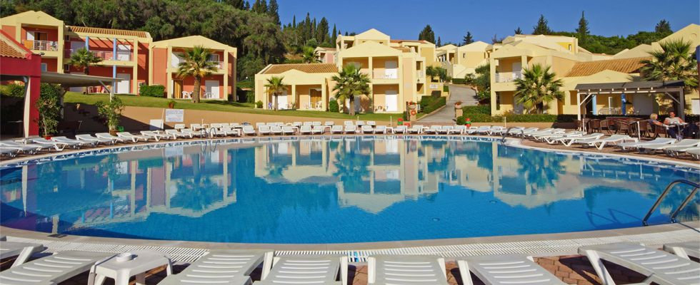 Olympion Village Hotel Kavos | Accommodations In Kavos | Corfu Hotels | Apartments In Corfu Greece | Best Places To Stay In Kavos