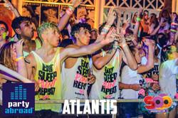 The Biggest Paint Party In Kavos - Atlantis Club Kavos Corfu - The Club Scene In Kavos