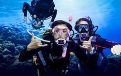 Kavos Extreme Fun - Kavos Diving - Kavos Scuba - Explore The Kavos Waters - Kavos Beach Life- Underw