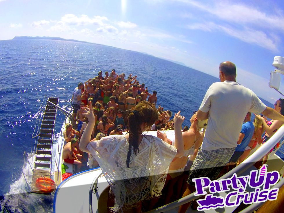 Party UP Boat Party - Kavos Events - Kavos Booze Cruise - Kavos Parties