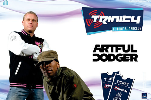 Artful Dodger | Trinity 2019 | Future Superclub Kavos | Wed 12th June | E-Ticket