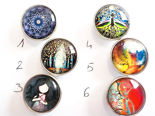 cabochon snap 18 mm LOTS3