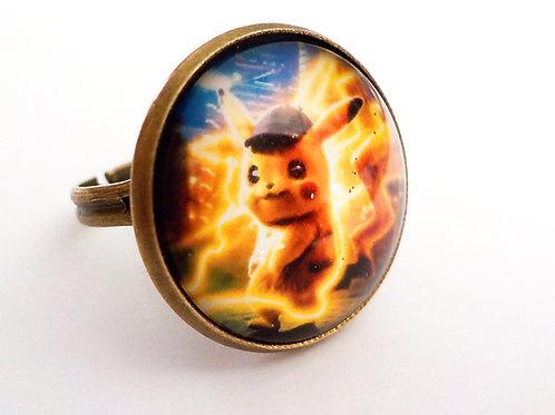 bague 18 mm 18/Pikachu