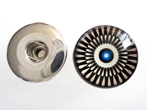 boucle d'oreille snap 18 mm BS26