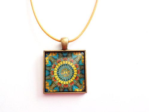 collier carré 25 mm C10