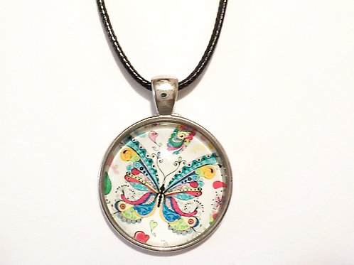 collier 25 mm 25/Papillon
