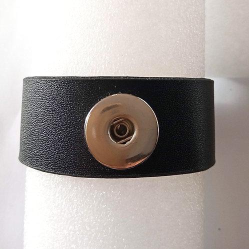 Bracelet Snap noir