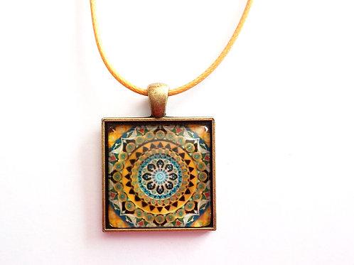collier carré 25 mm C12